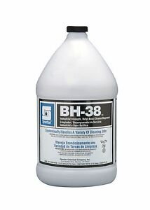 Spartan Bh 38 Cleaner Degreaser 4 Gallons Per Case Brand New
