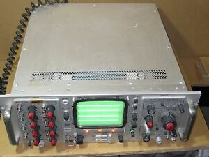 Tektronix Type R564b Oscilloscope With 3a74 Fourtrace Vertical And 3b3 Time Bas