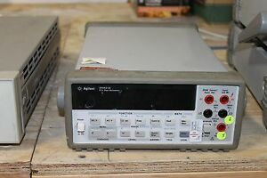 Hp Agilent Keysight 34401a Digital Multi Meter Dmm