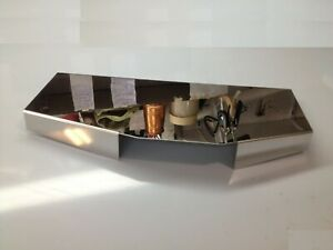 Fits Corvette C4 1985 1989 Air Filter Box Cover Stainless Steel Engine Chrome