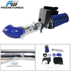 4in Blue Fit Gmc Chevy V8 4 8l 5 3l 6 0l Heat Shield Cold Air Intake Filter