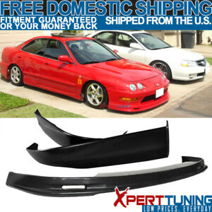 Pp Mugen Style Front Rear Bumper Lip Fit 98 01 Acura Integra