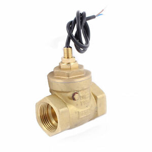 G1 Female Thread Water Flow Sensor Switch Flowmeter Meter 8 50l min Sen db25