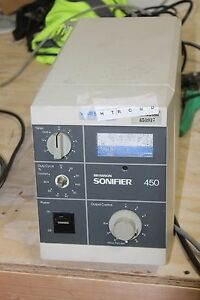 Vwr Scientific Branson Ultrasonics Sonifier 450 Cell Disruptor
