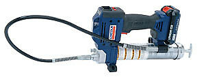 Lincoln Industrial 20v Lithium ion Battery Operated Grease Gun Dual Battery 1884