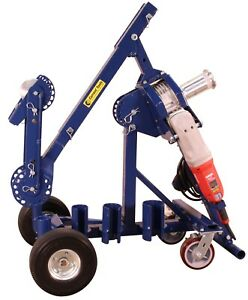 Current Tool 66 High Speed Cable Puller 6000 Rated W Mobile Cart