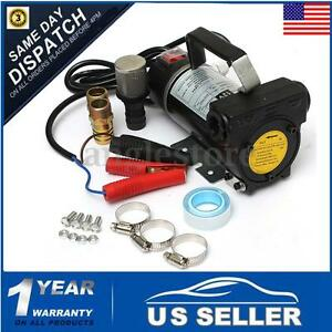 12v 200w Biodiesel Kerosene Pumpcast Fuel Oil Transfer Extractor Pump