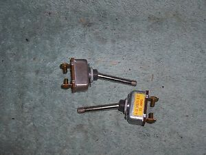Vintage Rat Rod Off On Toggle Switch 2 Post 6 12 Volt 35 Amp Lot Of 2