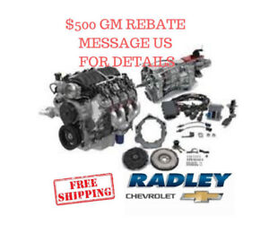 Gm Performance Ls3 430 Hp T56 Manual Connect Cruise Package Engine 19301326