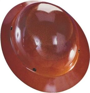 Safety Works 475407 Tan Msa Skullgard Full Brim Hard Hat W Fast Trac Suspension