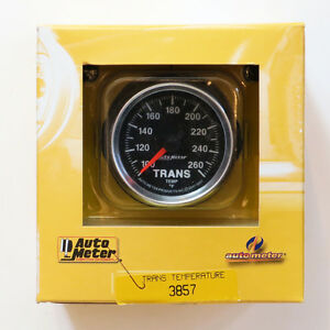Autometer 3857 Gs Series Electrical Transmission Temperature Gauge 2 1 16 Dia