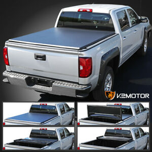 For 2009 2019 Dodge Ram 1500 2500 5 7ft Short Bed Tri Fold Tonneau Cover
