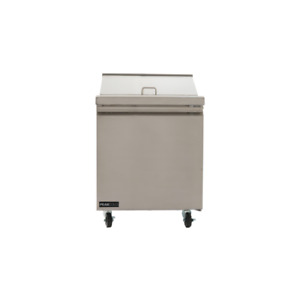 Peakcold Stainless Steel Sandwich Or Salad Refrigerated Restaurant Prep Table