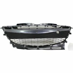 New Bumper Cover Grille Center For Mazda 3 Ma1036114 2010 To 2011