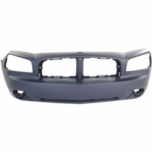 New Bumper Cover Front For Dodge Charger Ch1000461 2006 To 2010
