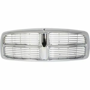 New Plastic Chrome Grille Assembly For Dodge Ram 1500 2002 2005 Ram 1500 2003 05