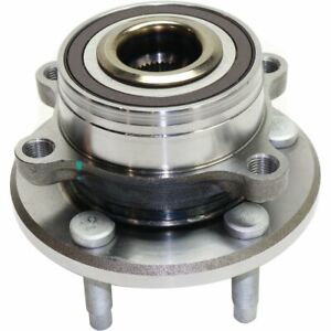 Front Or Rear Wheel Hub Bearing For 2011 16 Ford Explorer W Wheel Studs