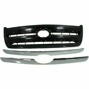 New Grille For Toyota Tundra To1200262 2003 To 2006