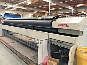 Vutek Ultra Vu 5300 Super Wide Digital Printing System Printer Up To 5 Meters