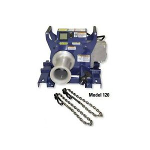 Current Tool 120 2 speed Cable Puller W Chain Mount 10 000 Rated New