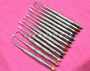 New German Set Of 13 Dental Proximators luxating Elevator a Quality