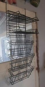 14 Piece Office Cubicle Partisian Wire Organizer With File Pockets And Trays