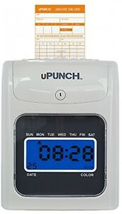 Payroll Employee Time Clock System Machine Punch In Plus Card Electronic Office