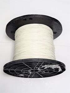 16 Gauge Wire White 400 On Spool Primary Awg Stranded Copper Power Ground Mtw