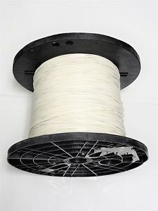 16 Gauge Wire White 500 On Spool Primary Awg Stranded Copper Power Ground Mtw