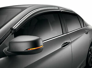 Genuine Oem 2013 2017 Honda Accord 4dr Door Visor Set