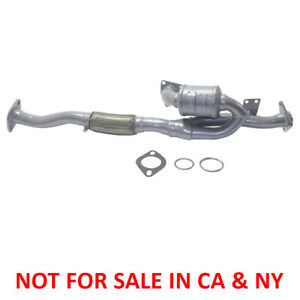 New Center Catalytic Converter For 3 0l Infiniti I30 Nissan Maxima 2000 2001