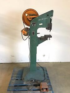 Milford Rivet Machine Co Model 256 Rev 1 Riveting Machine W Foot Pedal