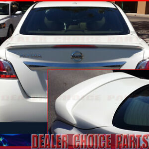 For 2013 2014 2015 Nissan Altima 4dr Factory Style Spoiler Wing W Led Unpainted