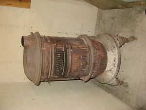 Round Oak P D Beckwith Wood Stove 1895