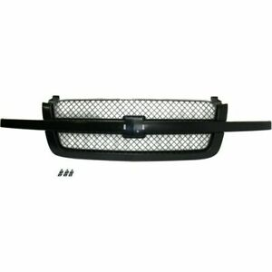 New Grille For Chevrolet Silverado 1500 Gm1200557 2003 To 2006