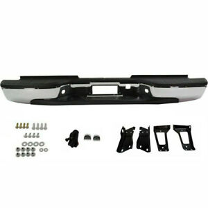 New Rear Bumper For Chevrolet Silverado 2500 Hd 2001 2006 Gm1103129