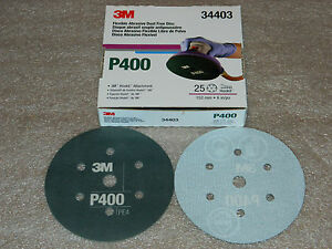 Choice Of 3m 34403 34405 34406 34407 34408 34409 Flexible Hookit D F 6 Discs