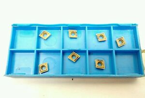 New Qty 7 Valenite Cpgt 21 51 fh Sv325 Carbide Inserts 060204 fh