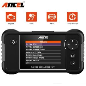 Obd2 Code Reader Obdii Can Car Auto Diagnostic Tool Auto Scanner Foxwell Nt201