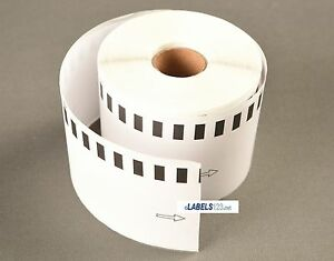 12 Rolls Brother Compatible Dk2205 Thermal Shipping Labels White 100 Ft Roll
