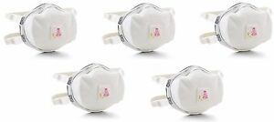 3m 8293 P100 Particulate Respirator Mask Filter W Cool Flow Valve 5 Pack