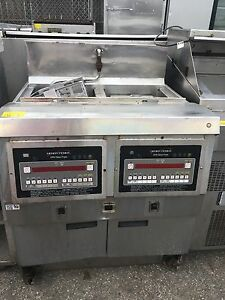 Henny Penny Electric Open Fryer 2 Bay Digital Programmable