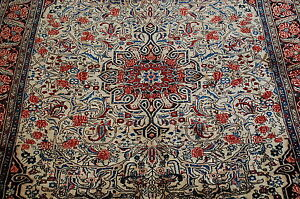 C1930s Antique Exclusive Fine Prsian Bijar Rug 4 9x6 10 Highly Detailedbeauty