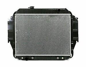 Radiator For fit 1333 75 91 Ford E series Econoline Van Plastic Tank Alum Core