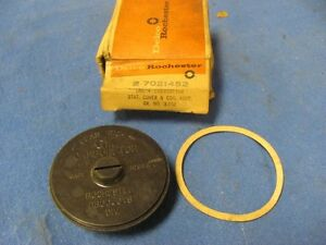 Nos 1962 62 Chevrolet Chevy Carb Choke Cover 6 Cyl Manual 7021452