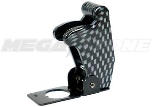 Carbon Fiber Toggle Switch Racing Safety Cover Guard Plastic metal Usa Seller