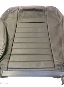 Mustang Coupe 05 09 Black Leather Passenger Seat Back Rh Seat Cover