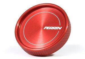 Perrin Performance Oil Fill Cap Round Style red For Wrx Sti And Frs Brz 86