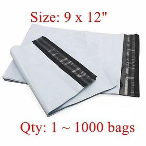 9 X 12 Poly Mailer Shipping Bags 2 35 Mil Good Quality 25 50 100 300 500 1000