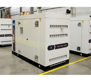 Hipower Hrng 20 T6 Natural Gas Generator Set 16kw 480v 24hp 1800rpm